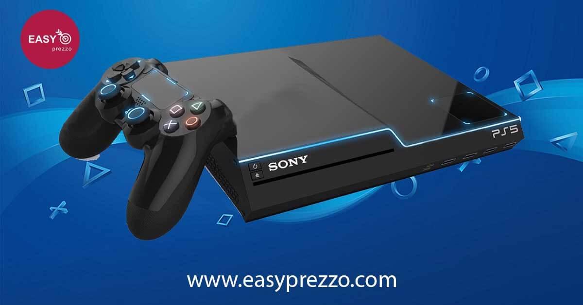 l immagine della playstation 5 nella foto